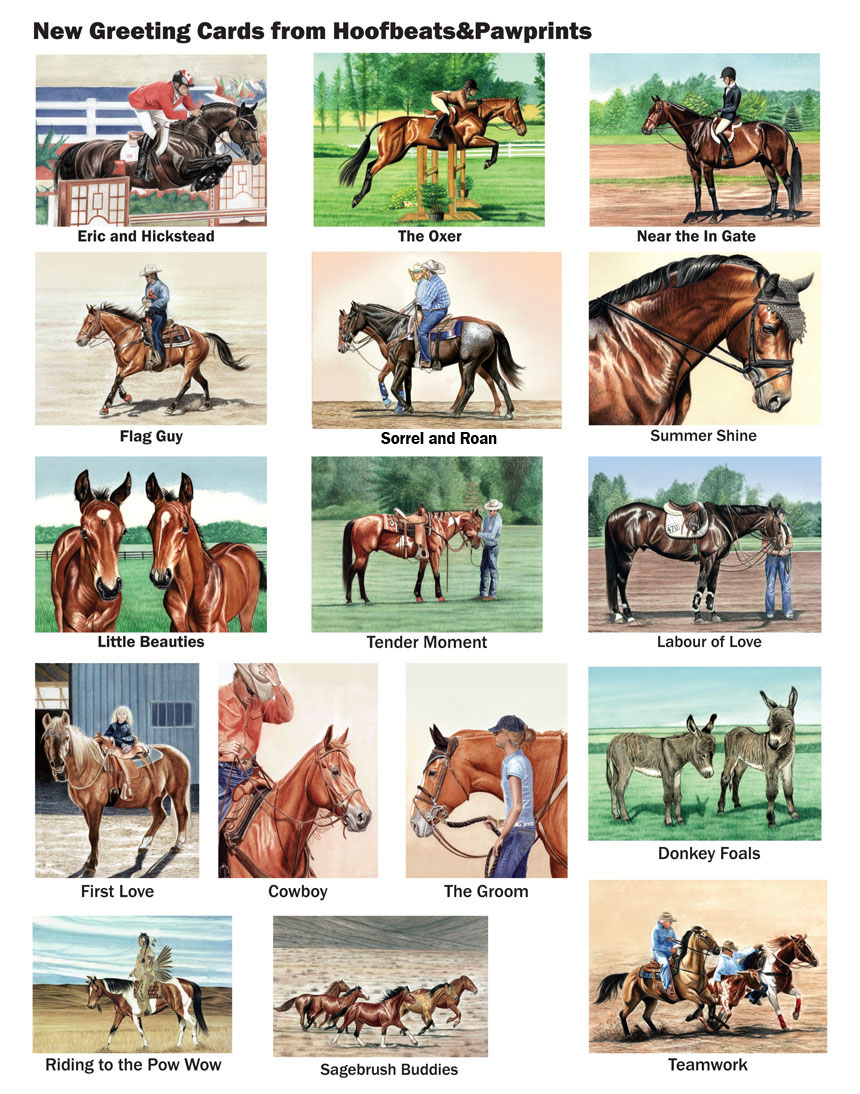 Horse greeting cards by janet griffin scott m4hsunfo